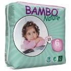 Bambo Nature Подгузник для детей ) XL-Plus 6 (16-30 кг) 22 шт. (310136)