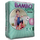 Bambo Nature Подгузники трусики для детей  Pants XL6, 18+ кг, 18 шт. (310139)