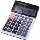 Калькулятор настольный Citizen MT, 10 разр., двойное питание, 104*161*17мм, белый/серый