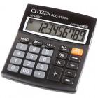 Калькулятор настольный Citizen SDC-810BN, 10 разр., двойное питание, 102*124*25мм, черный